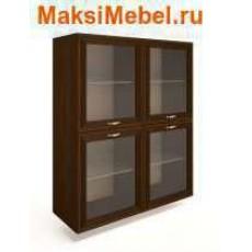 Ангстрем Шкаф напольный со стеклянными дверями