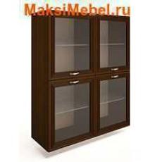 Ангстрем Шкаф настенный со стеклянными дверями