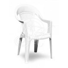 Кресла пластиковое белое ЭЛП