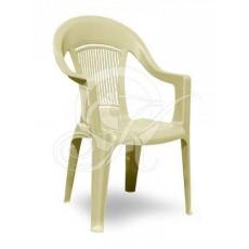 Кресла пластиковое бежевое ЭЛП