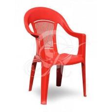Кресла пластиковое красное ЭЛП
