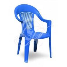 Кресла пластиковое синее ЭЛП