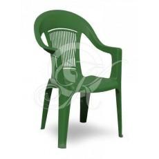 Кресла пластиковое темно-зеленое ЭЛП