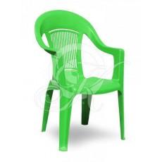 Кресла пластиковое зеленое ЭЛП