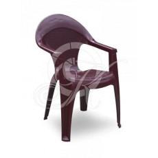 Кресло Барселона бордовое сетка -1- 60*60*90 Газ