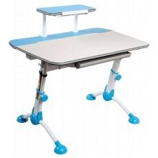 Стол детский Бюрократ CONDUCTOR-03 столешница:молочный ЛДСП цвет основания:голубой 105x71x101.9см