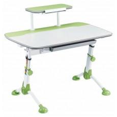Стол детский Бюрократ CONDUCTOR-03 столешница:молочный ЛДСП цвет основания:зеленый 105x71x101.9см
